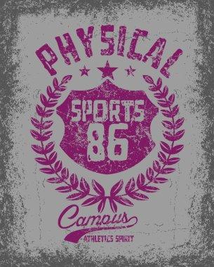 american college sports vector art