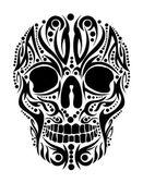 tetoválás törzsi koponya vektor művészet