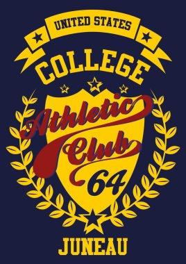 college label vector art
