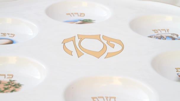 Pesach seder tabulka