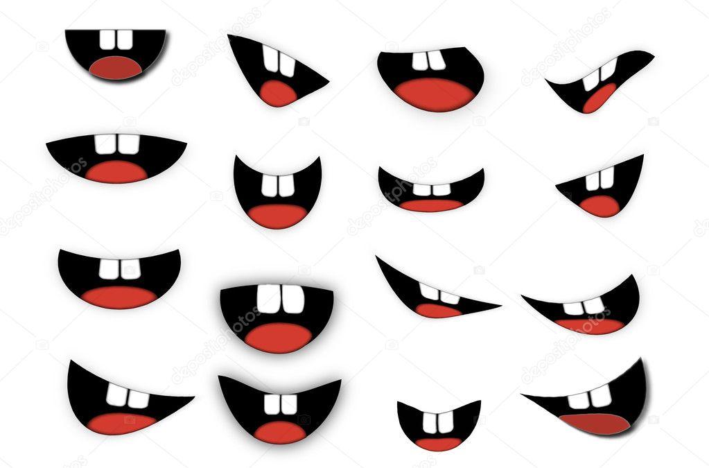 Картинка рот для поделок