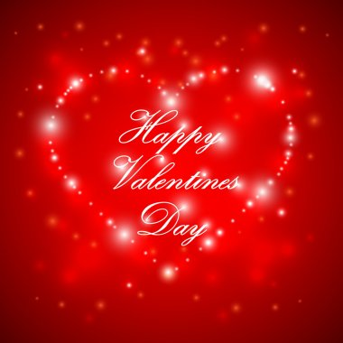 Happy Valentines Day clip art vector