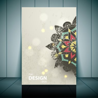 Vector Fashion brochure, flyer, magazine cover & poster template