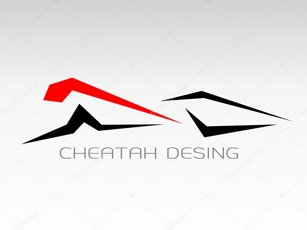 Images design cheetah run