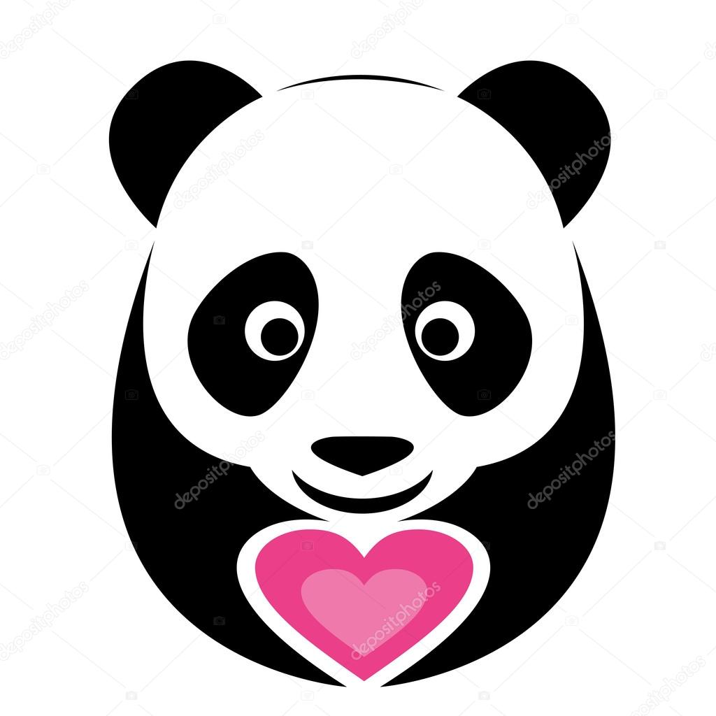 vector image of an panda stock vector yod67 30179333