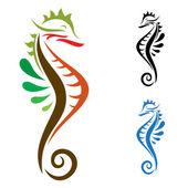 Fotografie Das Design der seahorse