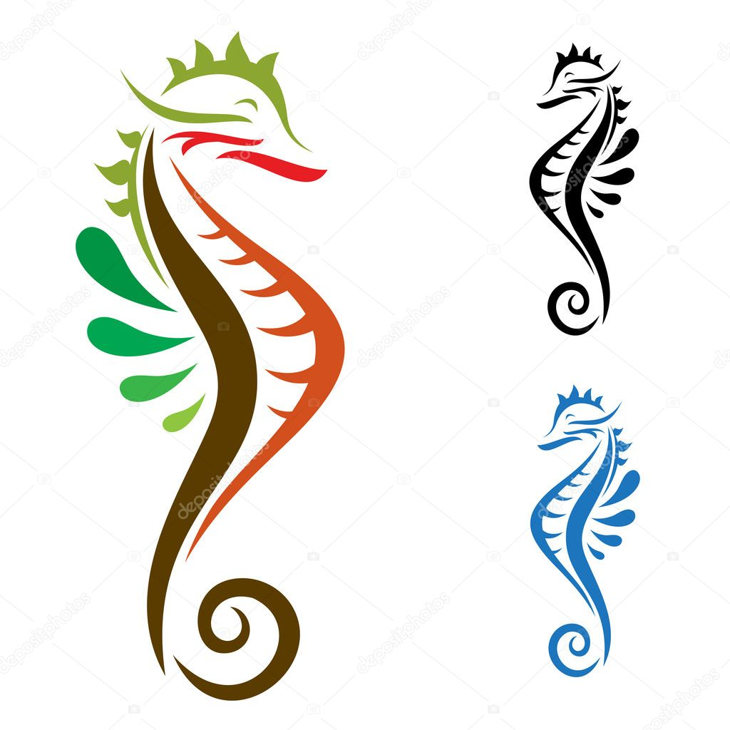 The design of the seahorse