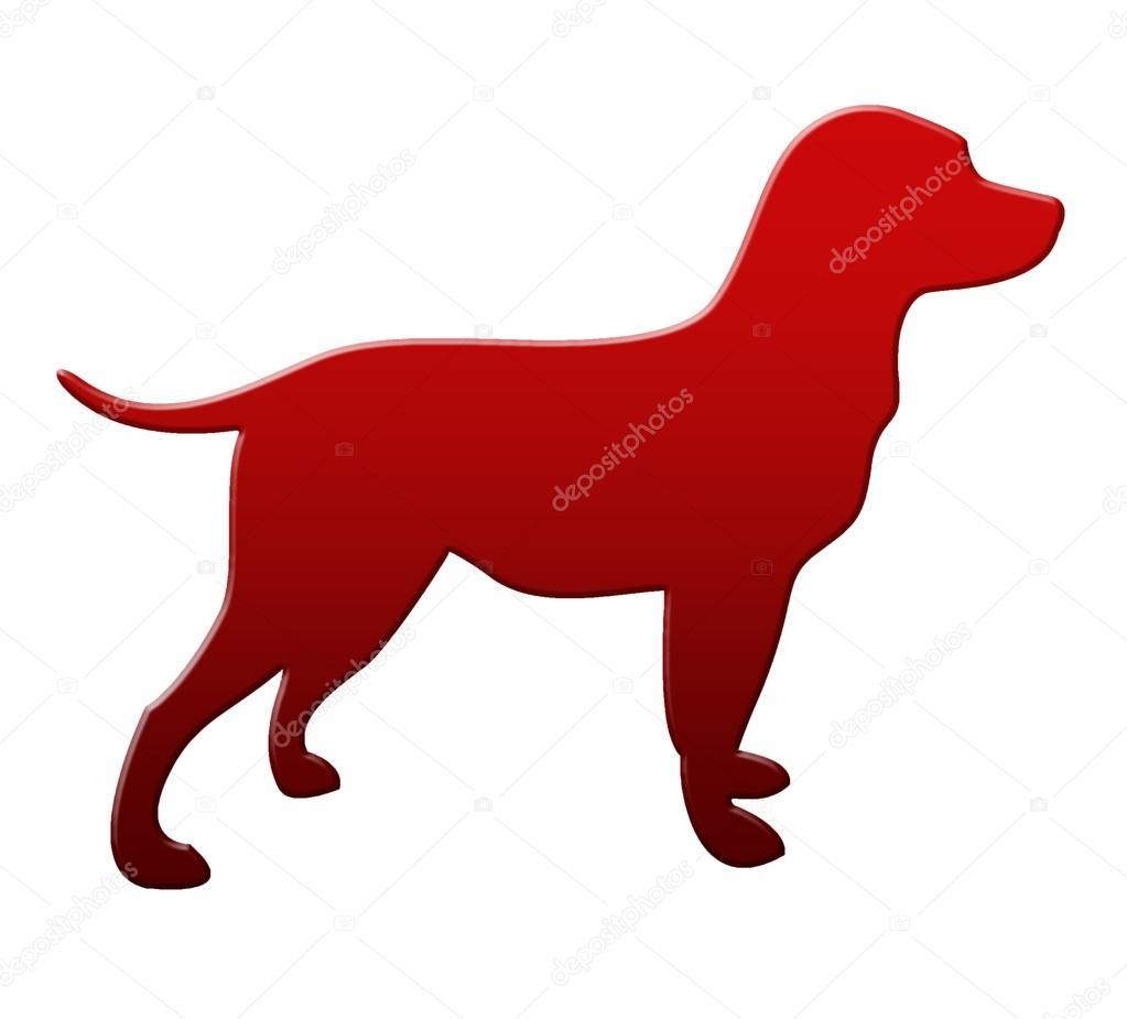 Image red dog
