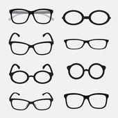 vektorové skupiny brýle