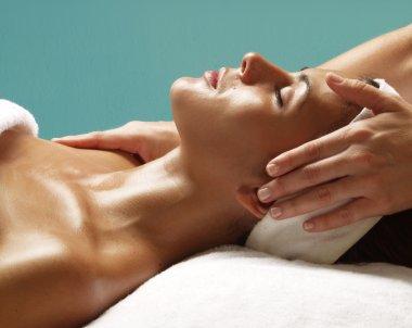 Latin woman spa.