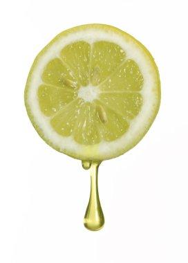 Squeezing fresh lemon,lemon drop