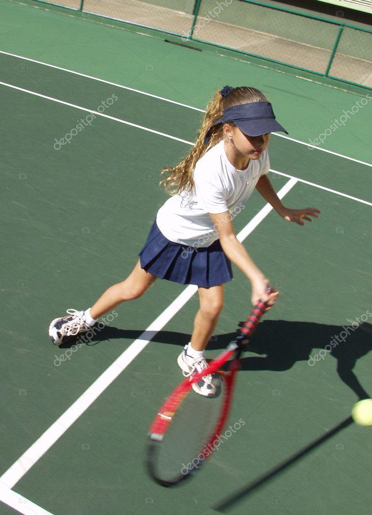 how to teach a kid to play tennis