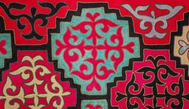 Kazakh felt carpet 4