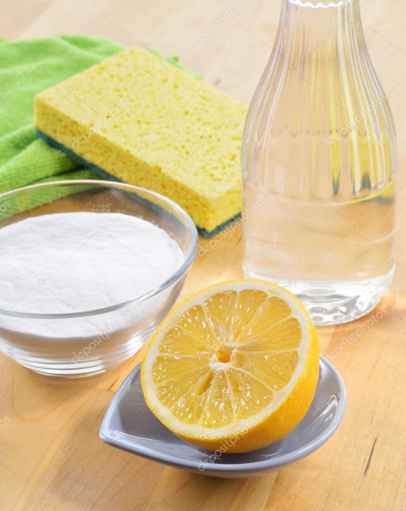 Salt, Lemons, Vinegar, and Baking Soda