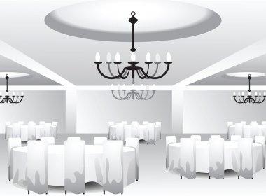Interior template for event design