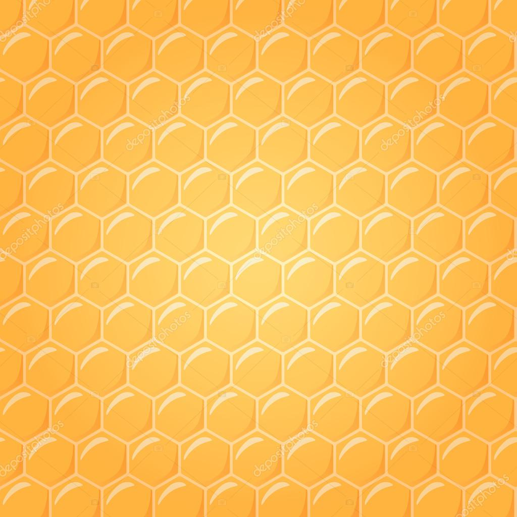 Honeycomb as vector background