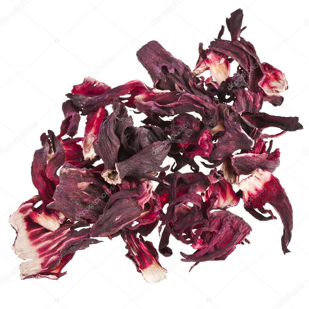 Dried hibiscus flower tea isolated on white background stock photo dried hibiscus flower tea isolated on white background stock photo izmirmasajfo Images