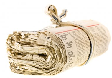 Old newspapers