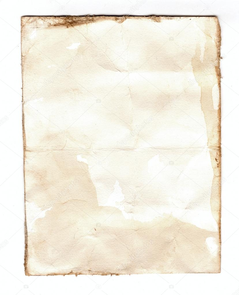 Old notebook paper isolated on white background stock - Wallpaper notebook paper ...