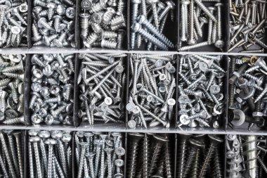 Toolbox, Box for metal bolt, nut, screw, nail