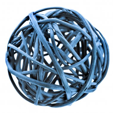 closeup macro image of beautiful decorative ball
