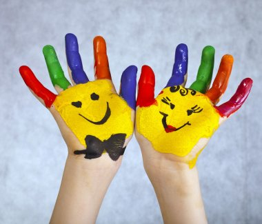 Hands Painted Children