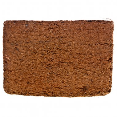 Coconut Coir Husk Fiber Chips Surface Texture