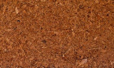 Block of Coconut Husk Fiber Chips surface background