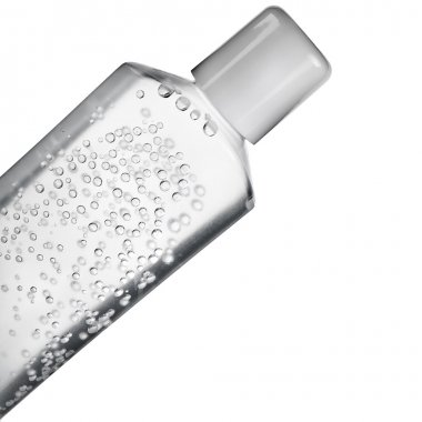 Transparent tube with water gel