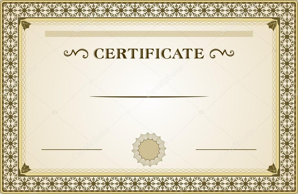 Shopping For A Gift Certificates? | Blank Certificates
