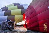 inflace balónků - Příprava čerpadla za letu