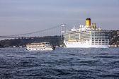 Fényképek Cruise vonalhajózási costa delisioza Isztambulban