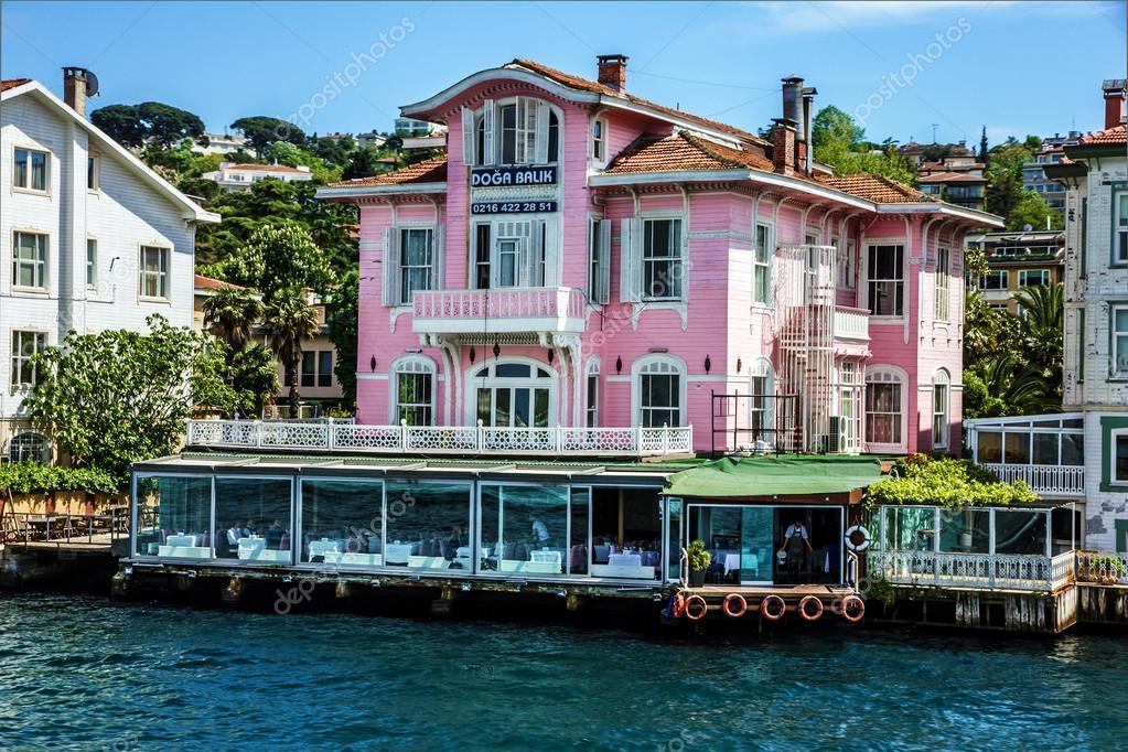 Estambul, Turquía - casas frente al mar — Fotos de Stock © Vlada.Z ...
