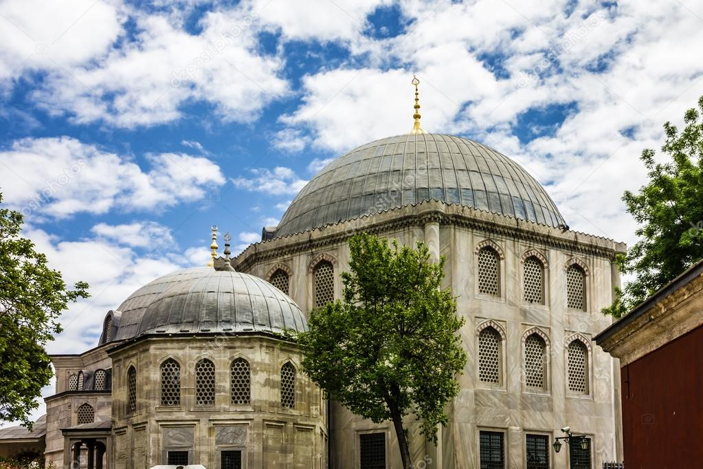 byzantine architecture of the saint irina church istanbul turk