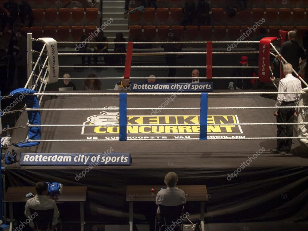 Empty Boxing Ring With Referees Photo By Kees59 Find Similar Images