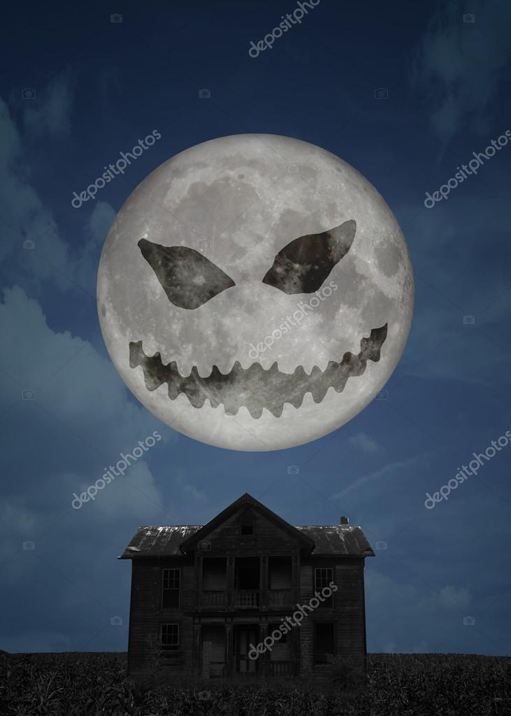 Halloween Moon — Stock Photo © Soraya_Shan #14017912