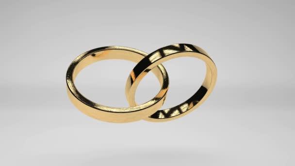 rotační zlaté prsteny