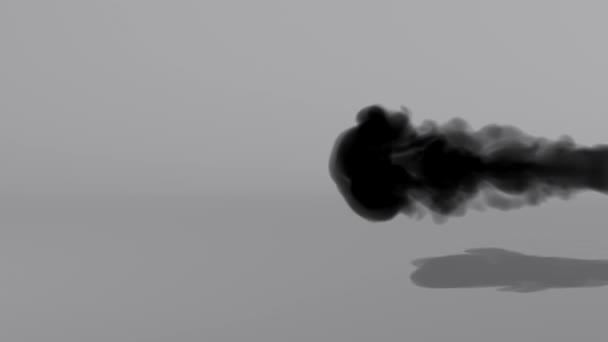 černý kouř