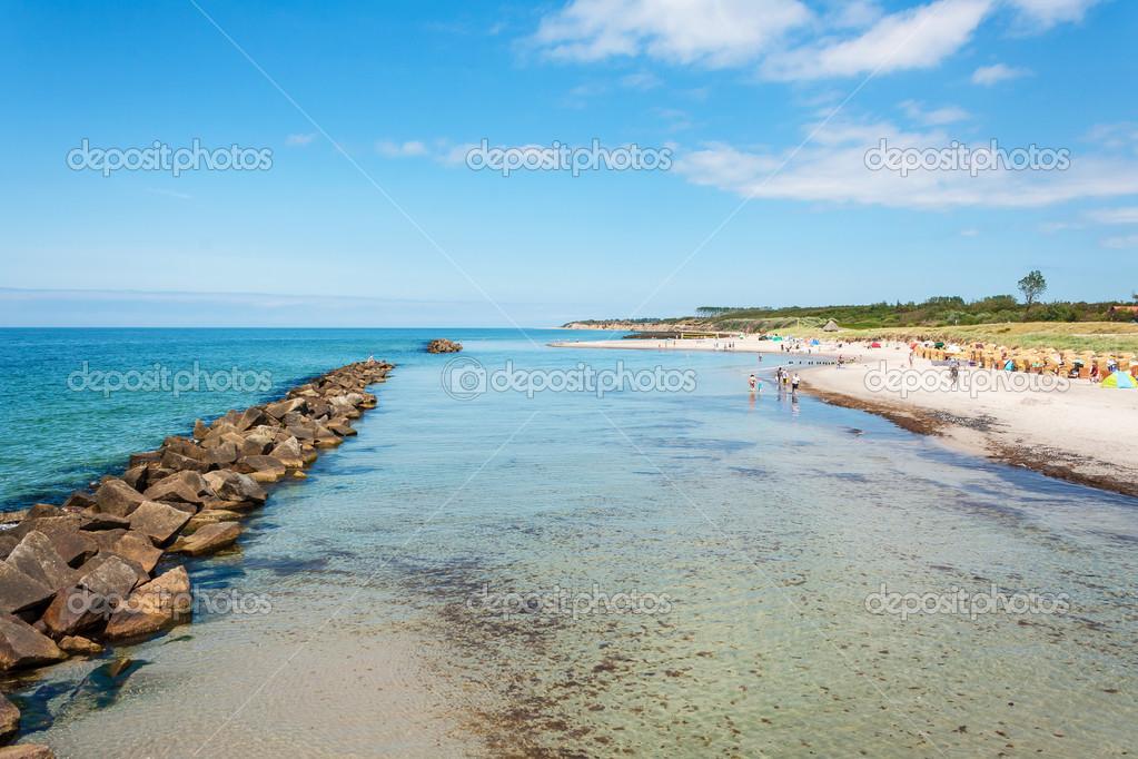Strand Wustrow — Stockfoto © aldorado #48950541