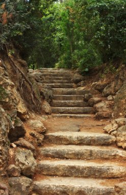 Ancient stairs made of stone