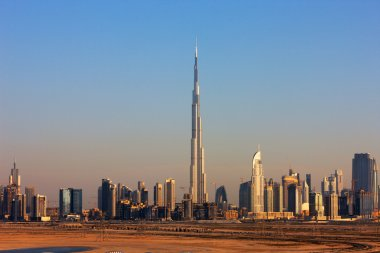 The Skyline of Dubai is graced with many beautiful tall skyscrapers