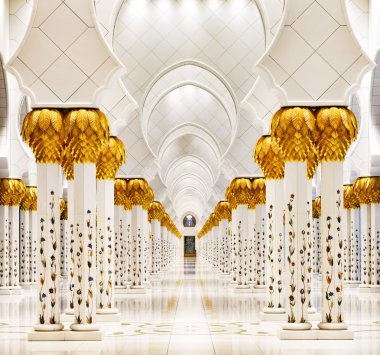 Sheikh Zayed Grand Mosque, Abu Dhabi is the largest in the UAE