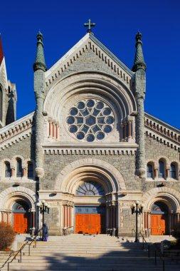 St. Francis Xavier Catholic Church in Philadelphia, USA