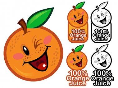 Happy Orange Juice