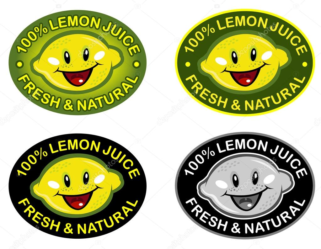 Lemon Fresh & Natural Seal