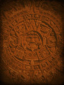 Fotografie Mysterious Aztec Background