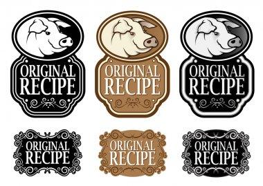 Original Recipe Pork vertical seal and icons