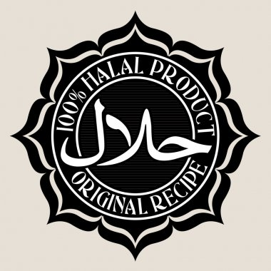 100% Halal Product / Original Recipe Seal
