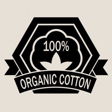 100% Organic Cotton Seal