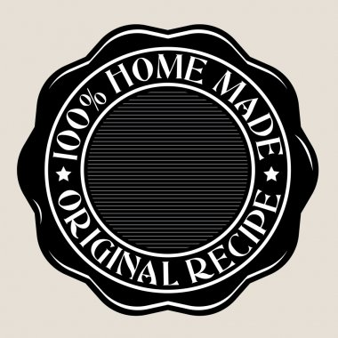 100% Home Made Seal